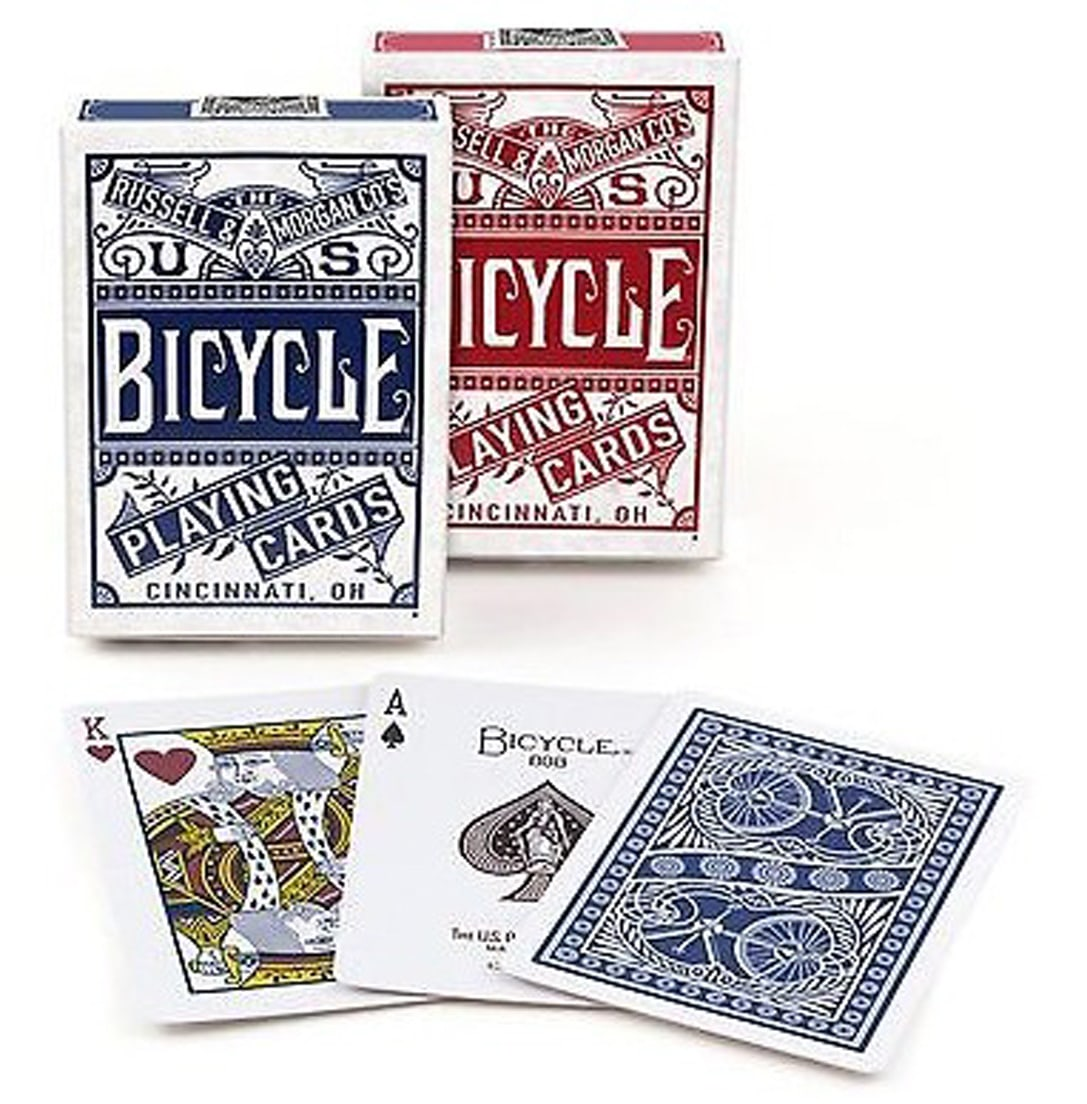 CARTE DA POKER BICYCLE 1pz CHAINLESS